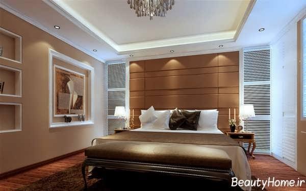 طراحی داخلی جدید و مدرن اتاق خواب