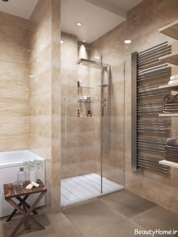 طراحی داخلی شیک سرویس بهداشتی