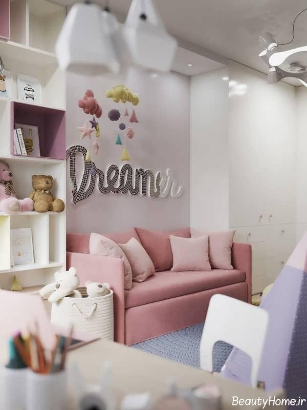 طراحی شیک و کاربردی اتاق کودک