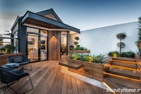 طراحی باغ بام