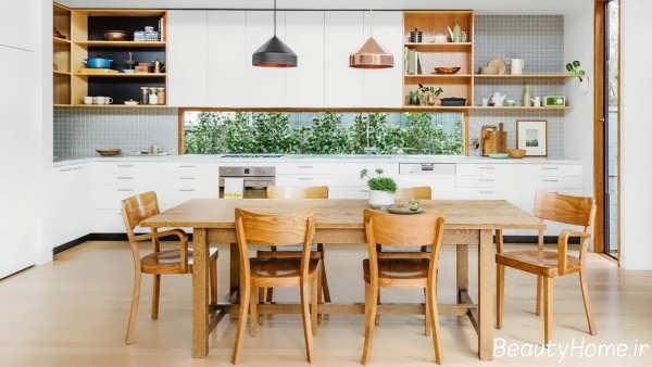 طراحی داخلی شیک آشپزخانه