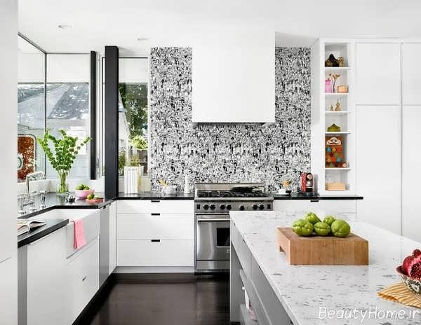 طراحی آشپزخانه بر اساس اصل فنگ شویی