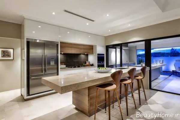 طراحی و چیدمان آشپزخانه بر اساس اصول فنگ شویی