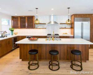 فنگ شویی آشپزخانه شیک و زیبا