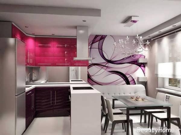دکوراسیون آشپزخانه کوچک ترکیه ای