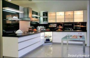 طراحی دکوراسیون زیبا و شیک آشپزخانه