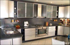 دکوراسیون خاکستری آشپزخانه ترکیه ای