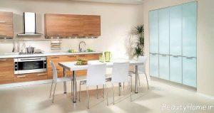 طراحی دکوراسیون آشپزخانه شیک و مدرن