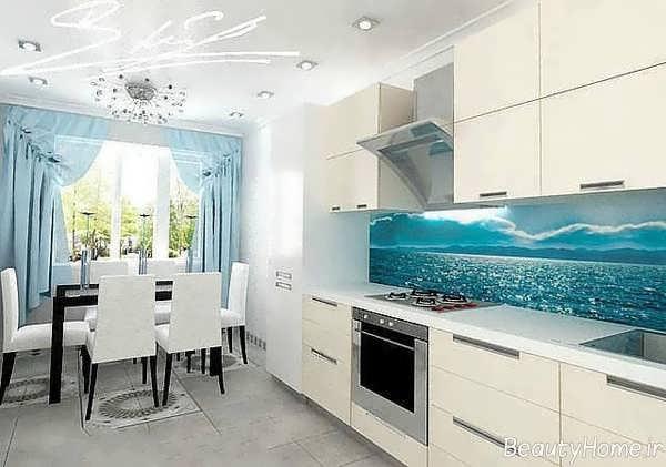 طراحی شیک و زیبا آشپزخانه ترکیه ای