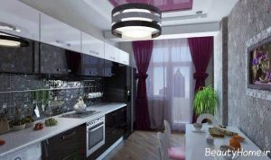 دکوراسیون داخلی آشپزخانه مدرن و شیک