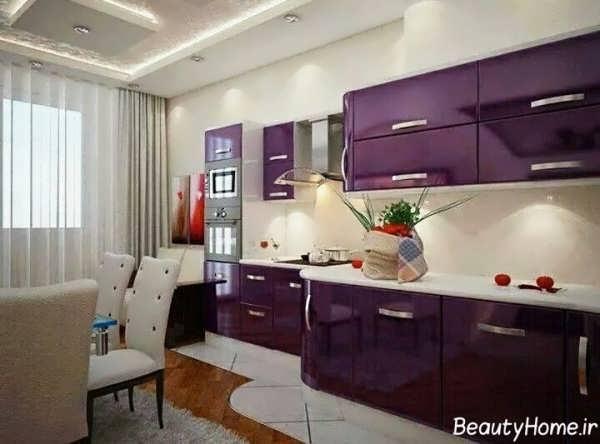 طراحی دکوراسیون آشپزخانه شیک و ترکیه ای