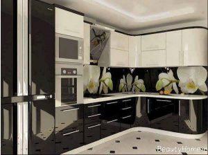 طراحی دکوراسیون آشپزخانه ترکیه ای شیک و مدرن