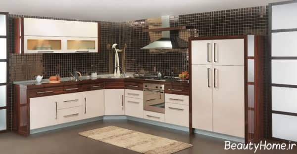 طراحی دکوراسیون داخلی شیک و کاربردی آشپزخانه