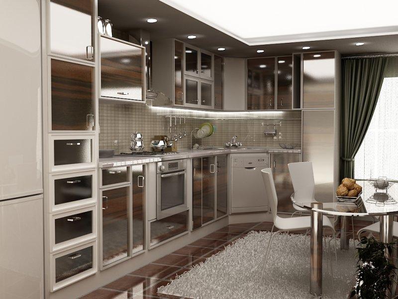 طراحی دکوراسیون آشپزخانه ترکیه ای