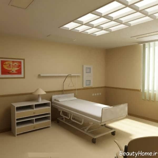 دکوراسیون داخلی زیبا و مدرن مطب پزشک
