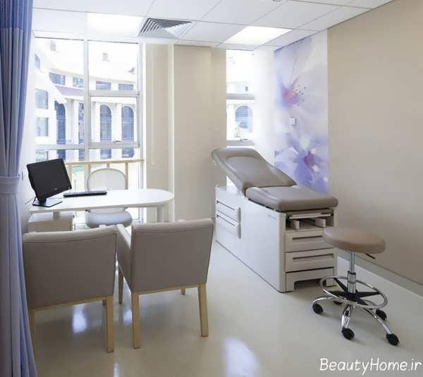 دکوراسیون مدرن مطب پزشکی