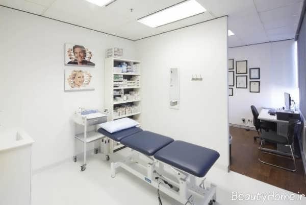 دکوراسیون زیبا و متفاوت مطب پزشکی