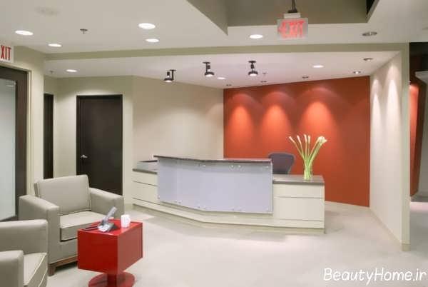 طراحی دکوراسیون مطب پزشکی مدرن و شیک
