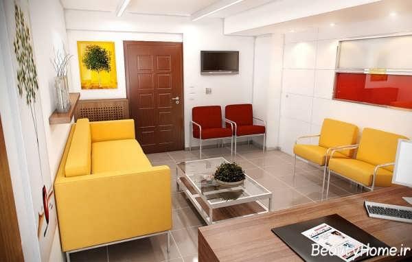 دیزاین داخلی مطب پزشکی