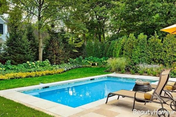 23 استخر کوچک در حیاط خلوت خانه های ویلایی