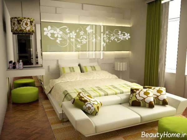 اتاق خواب سبز عروس