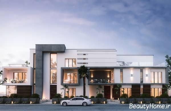 نمای خارجی ساختمان های جدید و زیبا