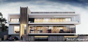 طراحی نما مدرن و جذاب ساختمان
