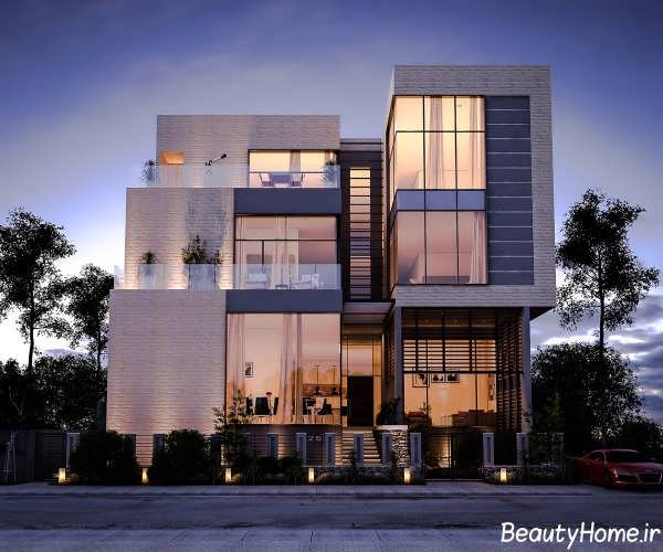 Home Design Ideas Elevation: نمای ساختمان های جدید و مدرن اروپایی برای خانه های ویلایی
