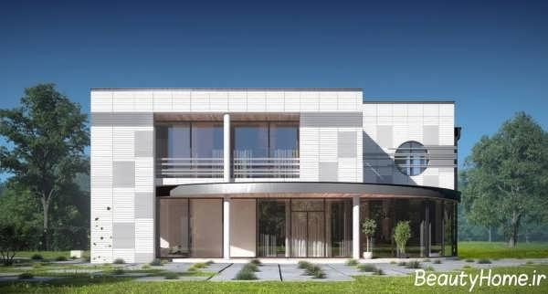 نمای شیک و جذاب ساختمان