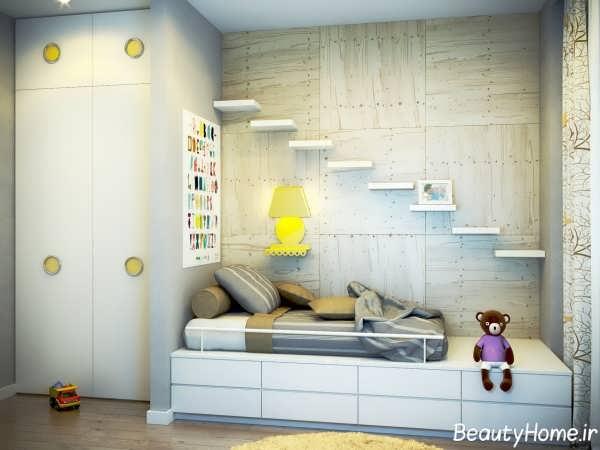 دکوراسیون سفید اتاق کودک