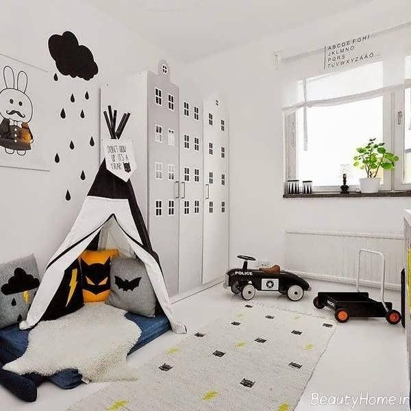 دکوراسیون شیک و مدرن اتاق خواب کودک