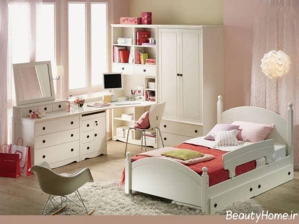 دکوراسیون سفید اتاق خواب کودک