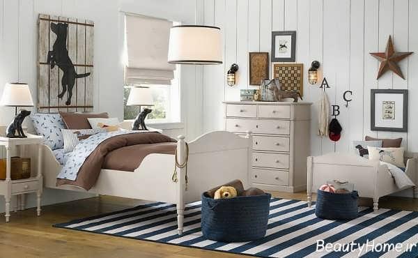 دکوراسیون زیبا و شیک اتاق خواب کودک