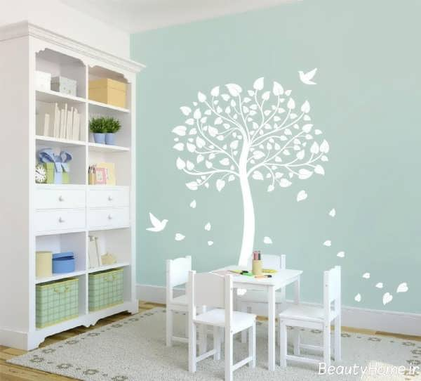 دکوراسیون زیبا و مدرن اتاق کودک