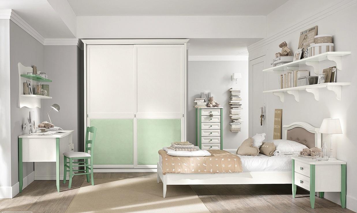 دکوراسیون اتاق کودک سفید با طراحی شیک و کاربردی