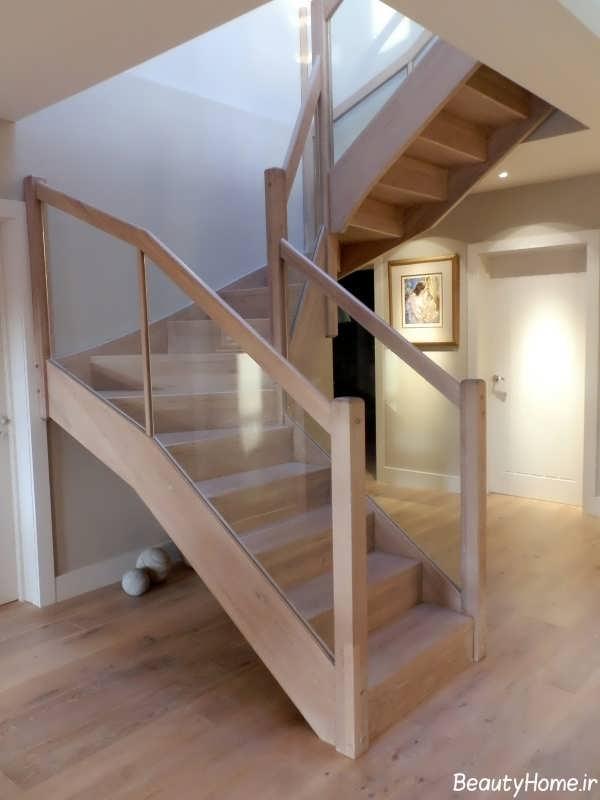 مدل راه پله زیبا و جذاب شیشه ای