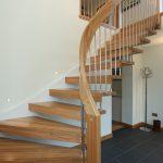 مدل راه پله چوبی با طراحی شیک و زیبا