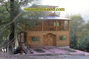 طراحی و ساخت سازه چوبی