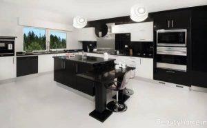 مدل کابینت سیاه آشپزخانه