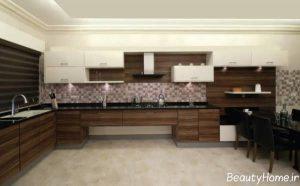 مدل کابینت آشپزخانه ام دی اف