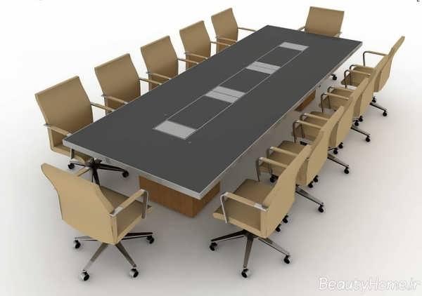 مدل میز کنفرانس شیک و کاربردی