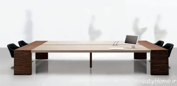 مدل میز شیک کنفرانس
