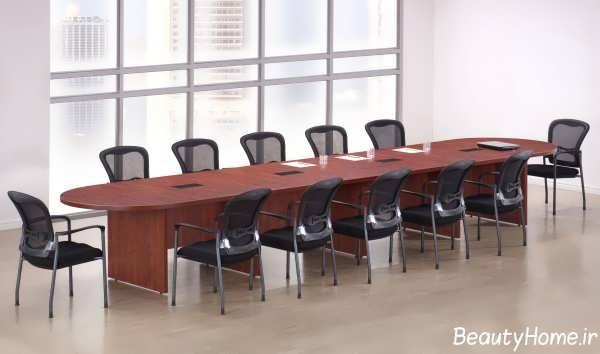 مدل ست میز و صندلی کنفرانس