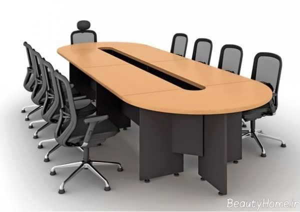 مدل میز و صندلی شیک و جذاب کنفرانس