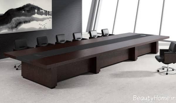 مدل میز و صندلی شیک و مدرن کنفرانس