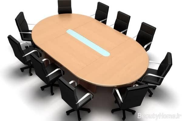 مدل میز و صندلی کنفرانس