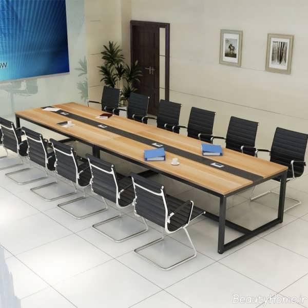 مدل میز مربعی کنفرانس