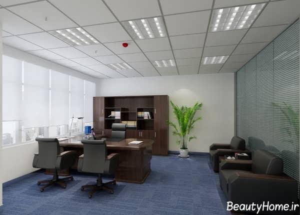 دکوراسیون داخلی اتاق مدیریت