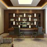 دکوراسیون اتاق مدیریت با طراحی شیک و کاربردی