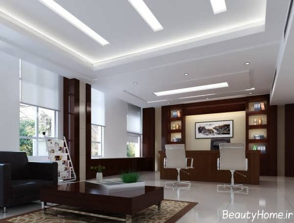 دکوراسیون اتاق مدیریت با طراحی زیبا و متفاوت